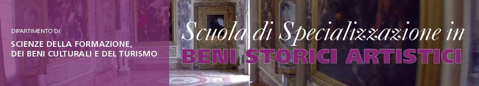 Scuola di specializzazione beni storici artistici