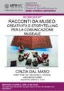 Workshop 16 aprile 2019 con Cinzia Dal Maso
